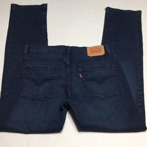 Levi 511 Slim Skinny dark blue Women's jeans 30